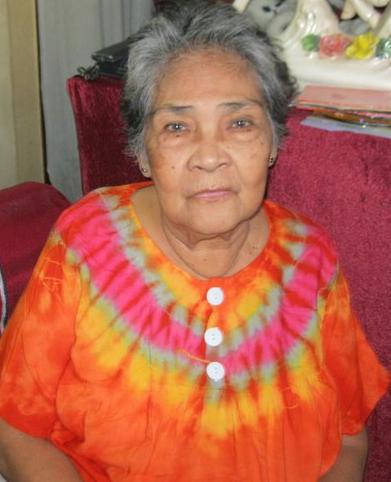 My mum Jovita